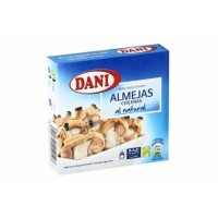 Моллюски бейби в собственном соку TM Dani, ж/б (111 г)