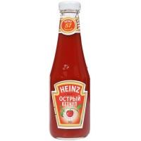 Кетчуп томатный острый TM Heinz (342 мл)