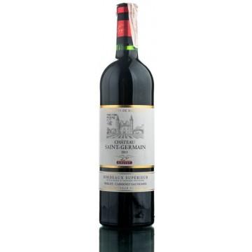 Вино Calvet Chateau Saint-Germain Bordeaux Superior красное сухое 0.75л (DDSAG1G041)