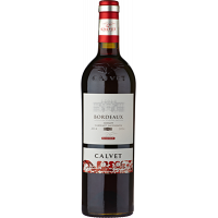 Вино Calvet Merlot Cabernet Sauvignon Bordeaux красное сухое 0.75л (DDSAG1G019)