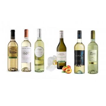 """Подарочный набор вина """"Вино к рыбе"""""""