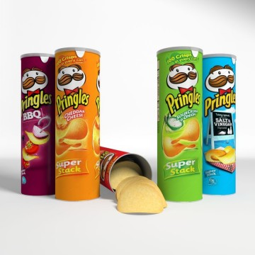 Чипсы Pringles Salt & Vinegar (165 г)