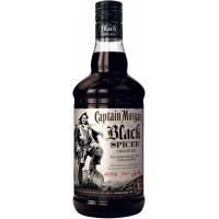 """Алкогольный напиток на основе Карибского рома Captain Morgan """"Black Spiced"""" 0.7л (BDA1RM-RCM070-011)"""