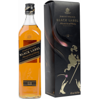 "Виски Johnnie Walker ""Black label"" 0.7л, with box (BDA1WS-JWB070-023)"