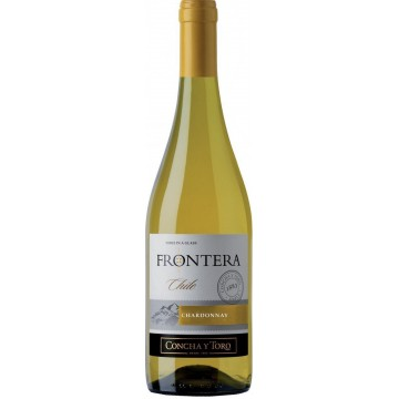 Вино Frontera Chardonnay (полусухое, белое) 0.75л (BDA1VN-VCT075-013)