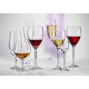 Бокал для шампанского Bohemia Klaudie180 мл, 6 шт.