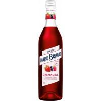 Сироп Marie Brizard De Fraise Strawberry (клубника) 0.7л (BDA1LK-LMB070-020)