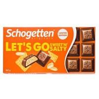 Шоколад Schogetten Lets Go Sweetn Salty (100 г)