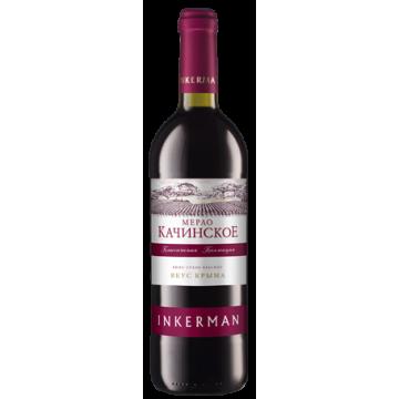 Вино Inkerman Мерло Качинское 0.75л (DDSAS1N082)