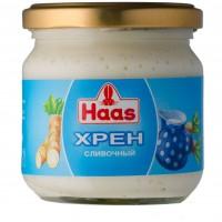 Хрен со сливками Haas (190 г)