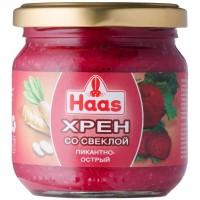 Хрен с красной свеклой Haas (212 мл)