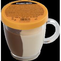 Шоколадная паста Piacelli Duo в чашке (300 г)