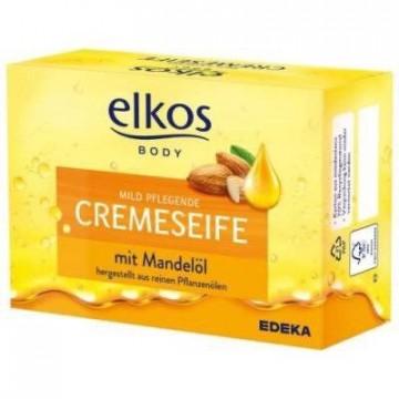 Мыло Elkos Body Creme Seife mit Mandelol, 150 г