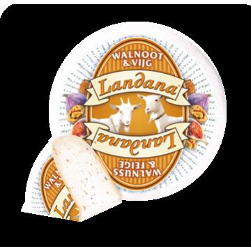 Сыр козий Landana с грецким орехом и инжиром