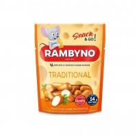 Cыр плавленный копченый Rambyno Snack оригинальный (75 г)