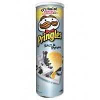 Чипсы Pringles Sea Salt & Black Pepper, 165 г