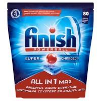 Таблетки для посудомоечных машин Finish All in MAX (80 шт)