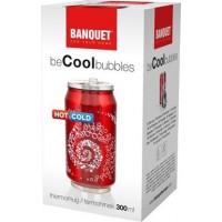 Термокружка Banquet beCOOL bubbles (300 мл)